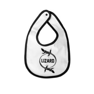 LIZARD-トカゲ- Baby bibs
