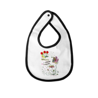 We are linking☆☆☆ Baby bibs
