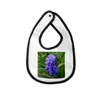 Muscari botryoides(1:1) Baby bibs