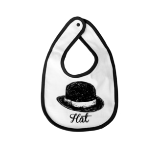 DRIPPEDのHat-ハット- Baby bibs