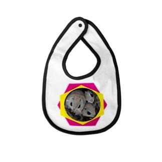 【にこらび】毎日を特別にするエゾモモンガンN◇202106 Baby bibs
