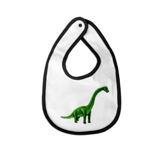 ブラキオサウルス Baby bibs