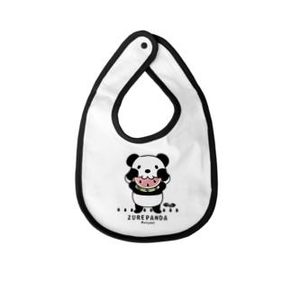 CT169 ズレちゃんとTWIN PANDAS*B Baby bibs
