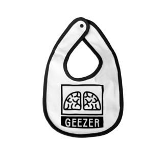 GEEZER Baby bibs