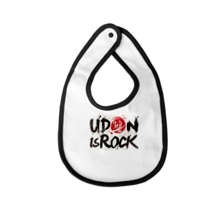 UDON is ROCK Baby bibs