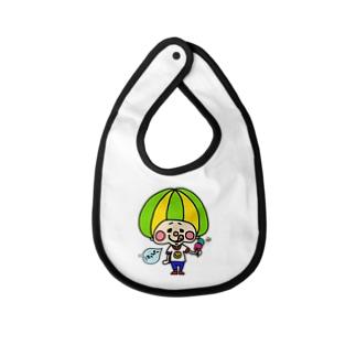 Rikuのアイスりくっぴー Baby bibs