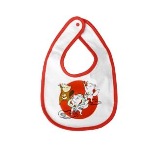 オタゲー妖狐 Baby bibs