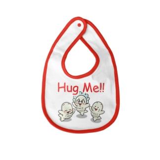 あーさーのBaby Hug Challenge Baby bibs