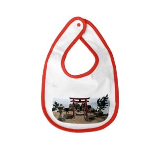 Go through torii Baby bibs