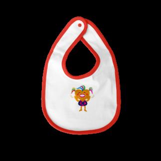 ジルトチッチのデザインボックスの可愛い女のコビザコちゃんのバイバイグッズ Baby bibs
