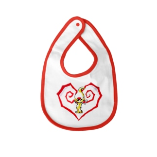 Heart of angel  Baby bibs