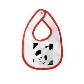 PANDA COMPLEX パンダ頭複合体 Baby bibs