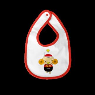 高田万十のオンパ シンバル Baby bibs