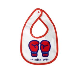 studio Will×INGRID ベイビービブ_A Baby bibs