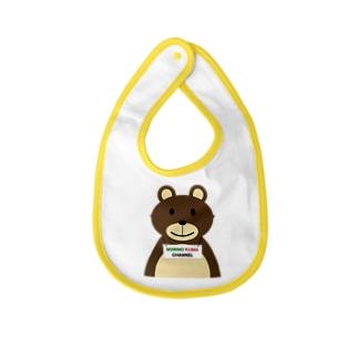 クマクマのグッツ Baby bibs