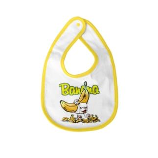 バナナしゅが~ Baby bibs