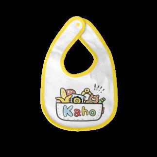 ゆゆ丸のかほ◎ Baby bibs