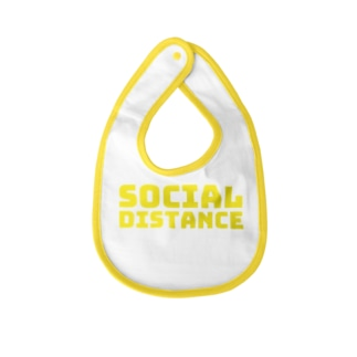 socail distance Baby bibs