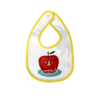appleくん Baby bibs