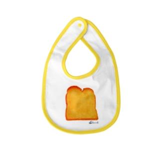 トースト Baby bibs