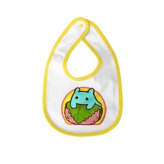 桜餅【水星人のスイスイちゃん】 Baby bibs