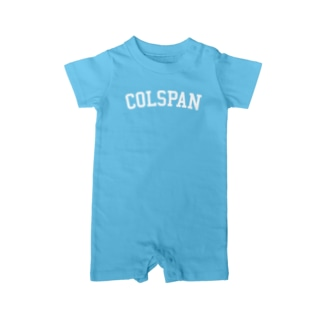 COLSPAN Baby rompers