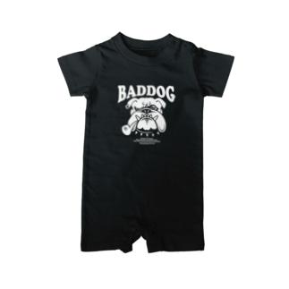 BADDOG ベイビーロンパース