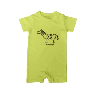 【OLD ZOO】 Baby rompers