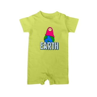 EARTH - チキュウ Baby rompers