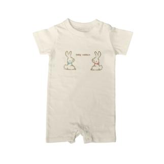 baby rabbit Baby rompers