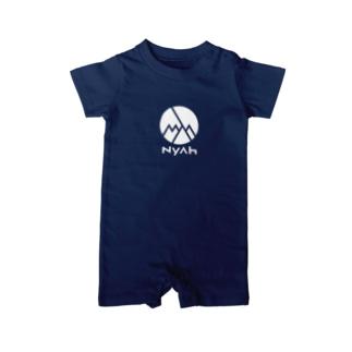 Nyah - white Baby rompers