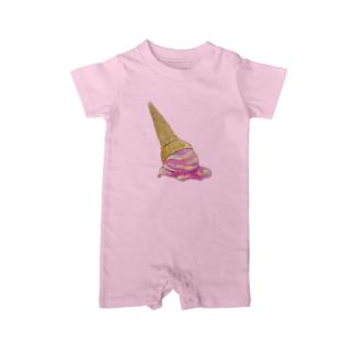 ice cream Baby rompers