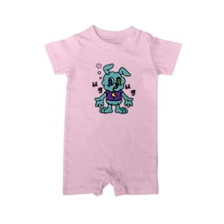 JUNKIE GREY Baby Rompers