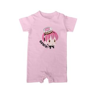 Pink Coin Baby ベイビーロンパース