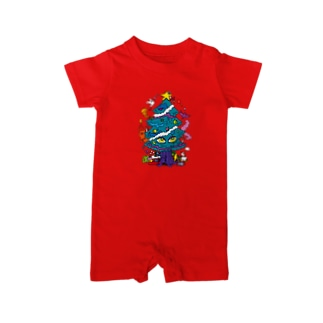 CALL MOLA 《Christmas tree》 Baby rompers