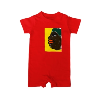 African Beauty  Baby rompers