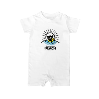octon Slow life Island BEACH #basic Baby rompers