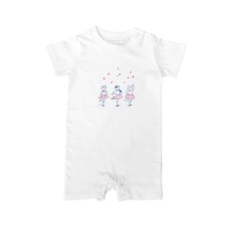 バレリーナネコ Baby rompers