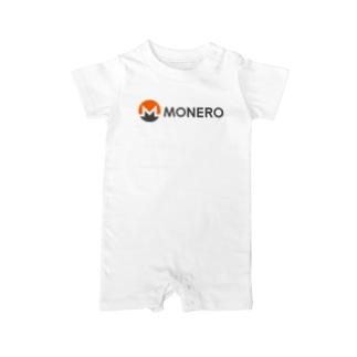 Monero モネロ Baby rompers