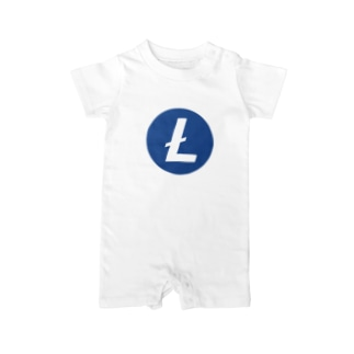 Litecoin ライトコイン Baby rompers