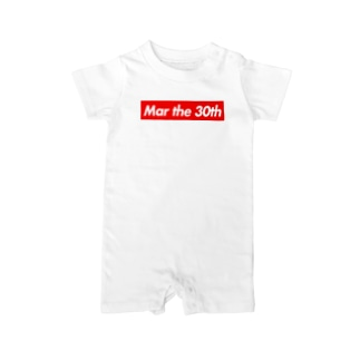 Mar the 30th(3月30日) Baby rompers