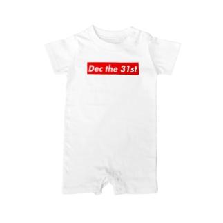 Dec the 31st(12月31日) Baby Rompers