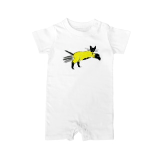 flying cat Baby rompers