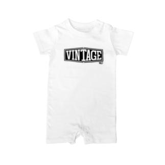 MLF@? VINTAGEシリーズ Baby rompers