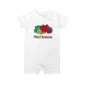 Fruit of the Mum ベイビーロンパース