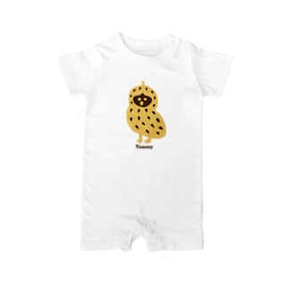 【THE THREE OWL PEANUTS】Tommy Baby Rompers