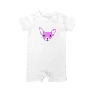 PINKちわわ Baby rompers