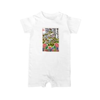 山旅漫歩゚ Baby rompers
