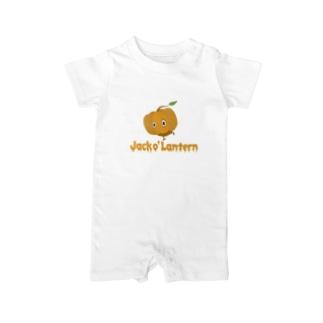 カボチャ頭 Jack o' Lantern Baby rompers