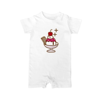 strawberry ice Baby rompers